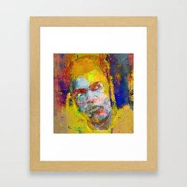 Le boxeur Framed Art Print
