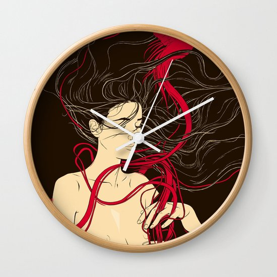 The Warmth of You Wall Clock