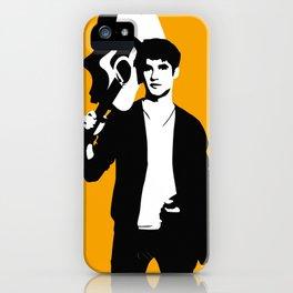 Darren Criss with guitar! iPhone Case