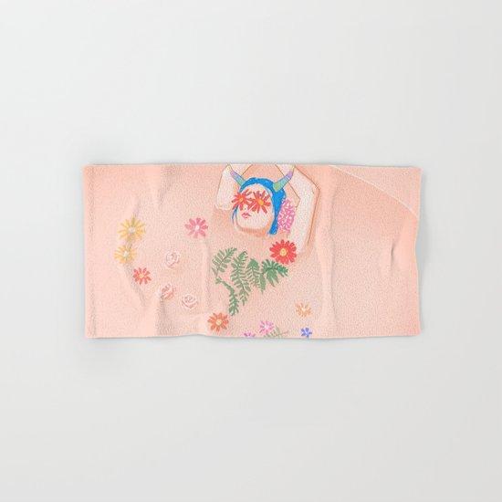 Flower Bath Hand & Bath Towel