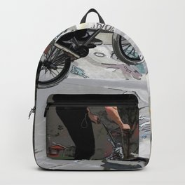 """Getting Air"" - BMX Rider Backpack"
