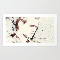 gangster Art Prints featuring Gangster by  Maʁϟ