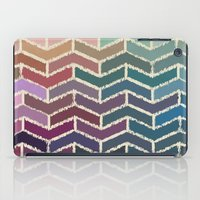 ikat iPad Cases featuring Chevron iKat by Steven Womack