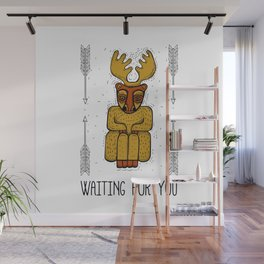 Waiting for you Wall Mural