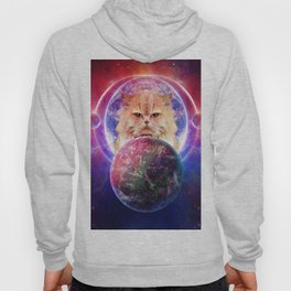 King Cat Galaxy Hoody