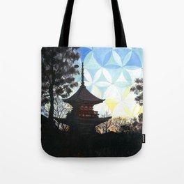 Kyoto Kaleidoscape Tote Bag