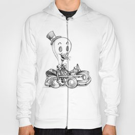 "doodle ""WHITEOUT"" Hoody"