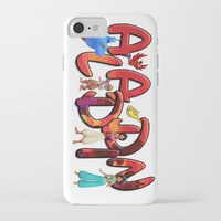 aladdin iPhone & iPod Cases featuring Aladdin  by Mix-Master