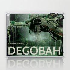 Swamp world of Degobah Laptop & iPad Skin