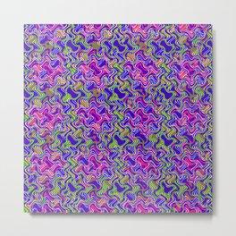 Polyp Blue - Coral Reef Series 017 Metal Print