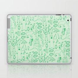 green montage Laptop & iPad Skin