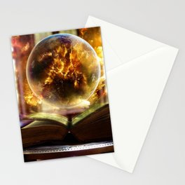 Book of Sorcery Stationery Cards