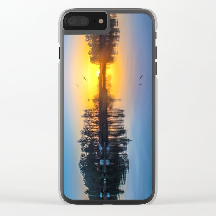 Soundtrack of silence Clear iPhone Case