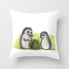 Chestnut Throw Pillow