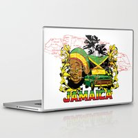 jamaica Laptop & iPad Skins featuring Jamaica by Tshirt-Factory
