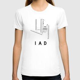 IAD Airport Diagram T-shirt
