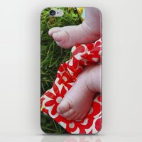 feet iPhone & iPod Skins featuring Feet by Cristina Serrano