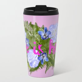 Life is Hell Travel Mug