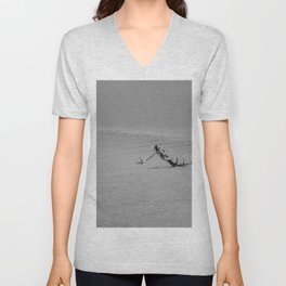 Slow Fall Unisex V-Neck