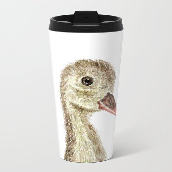smiling little duck Metal Travel Mug