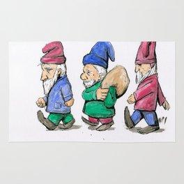 Lawn Gnomes Rug
