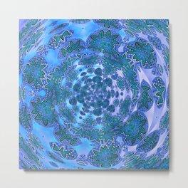 Lily Swarm Metal Print