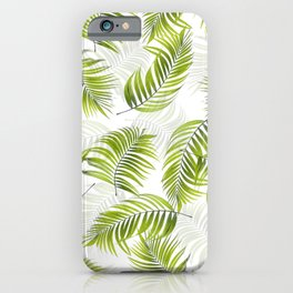 Design 150 Palm Leaves iPhone Case