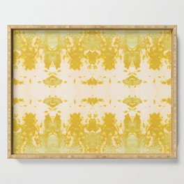 Kumo Ikat Turmeric Serving Tray
