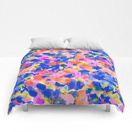 Floral splash Comforters