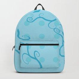 Handbag Heaven Blue - detail Backpack