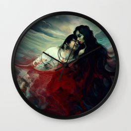 The Mussel Eater Wall Clock