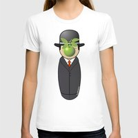 magritte T-shirts featuring Kokeshi Magritte by Pendientera