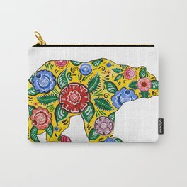 Gorodets Bear Carry-All Pouch