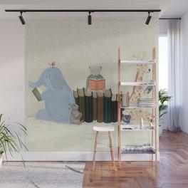 little readers Wall Mural
