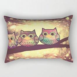 owl-246 Rectangular Pillow