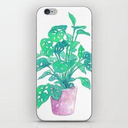 Tropical Houseplant iPhone Skin