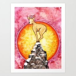 The Year of the Goat Art Print