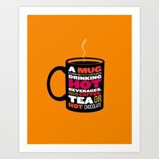 Mug - Wikipedia Illustrated Art Print