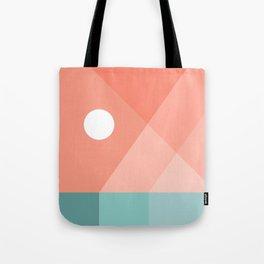 Geometric Landsape 12 Tote Bag