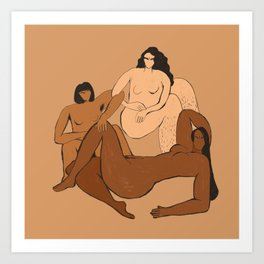 The Furies Art Print