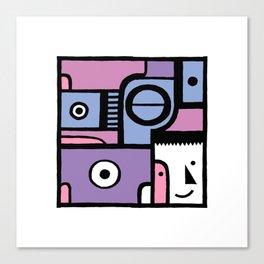 Square 4 Canvas Print