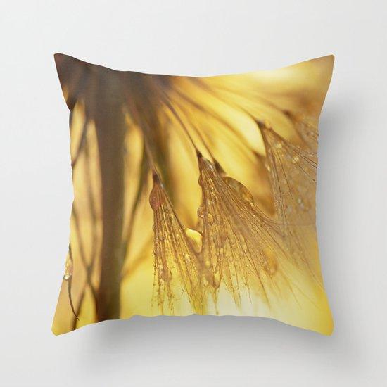 Dandelion Light Throw Pillow