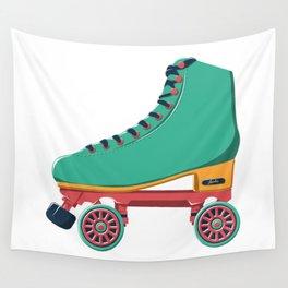 old school roller skate Wall Tapestry