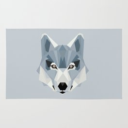 W is for Wolf Rug