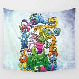 Monstrously Messy Wall Tapestry