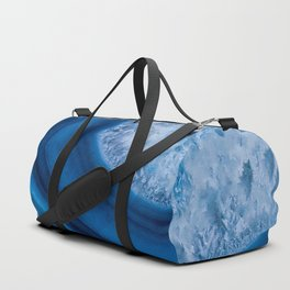 Blue Agate Geode Duffle Bag