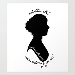 Jane Austen Art Print