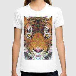 Tiger Triangle Mandala T-shirt