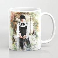 lolita Mugs featuring Lolita DaVinci by © maya lavda / wocado