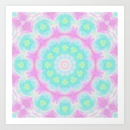 Sparkly Mandala 1 Art Print
